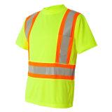 Class3 저어지 직물 높은 시정 t-셔츠