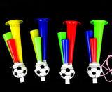 선전용 선물을%s 주문을 받아서 만들어진 축구 팬 Vuvuzela 경적 나팔