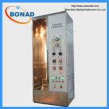 Instrument brûlant vertical d'essai du câble IEC60332 simple, appareil de contrôle de combustion