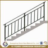 Для использования внутри помещений дома используется оцинкованной стали лестницы поручни