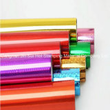 Lámina para gofrar caliente olográfica de la hoja del traspaso térmico para el material de la impresión