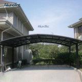 Parking en aluminium de type du polycarbonate extérieur M pour le garage de véhicule