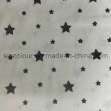 88%12%Poliéster Spandex Stars Tecido de impressão para os calções de banho