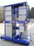plataforma de trabalho 14meters aéreo hidráulica de alumínio (GTWY14-300SB)