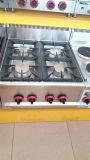 Kommerzieller Schnellimbiss-Gaststätte-Gegenoberseite-Gas-Ofen