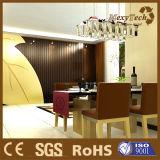 Decoración de interiores el panel de pared para la aplicación de hotel sin formaldehído