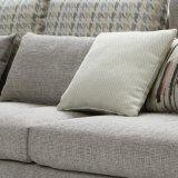 居間の家具G7602のための模造綿の高品質ファブリックが付いている現代デザイン部門別のソファー