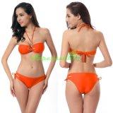 Frauenquerhalter-Zeichenkette-Bikini