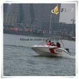Barco pequeno da velocidade da forma com motor externo