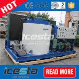 15tons/Day de Machine van het Ijs van de vlok met PLC het Systeem van de Controle