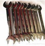 Doppia chiave di estremità aperta, chiave, utensile manuale