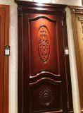 De bonne qualité de porte intérieur en bois massif avec la sculpture de la villa ou appartement (DS-8036)