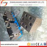 Profil de guichet de PVC faisant la ligne d'extrusion de profil de Machine/UPVC