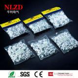 Runde Nagel-Plastikkabelklemmen 4mm-50mm