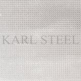 Feuille Kem007 gravée en relief par couleur d'argent d'acier inoxydable pour des matériaux de décoration