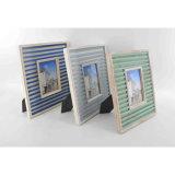 Marinefoto-Rahmen gebildet vom Holz für Hauptdekoration