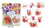 Juguetes de papel de los cabritos DIY para la Animal-Mariposa