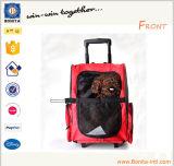 Новые путешествия Pet мешок автомобиля кота собаки Pet Перевозчика рюкзак сумка с тележкой