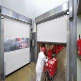 Staubdichte verursachte Rolle herauf schnelle Tür für Luft-Dusche
