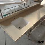 Parte superior de superfície contínua quente da vaidade do banheiro e da cozinha