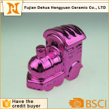 La Banca Piggy del mini treno di ceramica da vendere