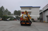 4X2 Dongfeng Nettoyage d'égouts Vacuum Jetting Trucks