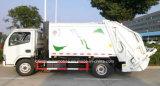 판매를 위한 5t 쓰레기 컴퓨레스와 수송 트럭 5 Cbm 폐기물 처리 트럭