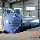 Autoclave de borracha aprovada indireta do Vulcanization do aquecimento ASME do vapor