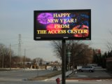 P10 Full Color LED Écran d'affichage extérieur pour Dynamic Publicité