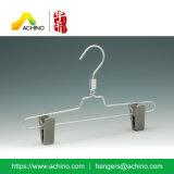 Los niños de aluminio colgador pantalón con pinzas de plástico (APSH102)
