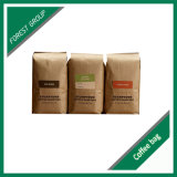 Saco de embalagem de feijão de café de papel Kraft personalizado (FP8039101)