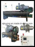단 하나 압축기 산업 물에 의하여 냉각되는 나사 냉각장치