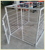 Las jaulas de perros de galvanizado