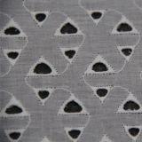 Tessuto di cotone --- Ricamo della geometria