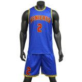 Digital Print sublimé maillot de basket-ball de basket-ball réversible Tops uniforme de basket-ball