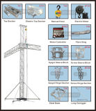 De hand Toren van de Lift van de Bundel van het Aluminium voor OpenluchtOverleg
