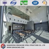 Construction préfabriquée modulaire/construction de structure métallique avec la bonne décoration