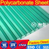Hoja sólida del material para techos del policarbonato plástico claro con precio barato