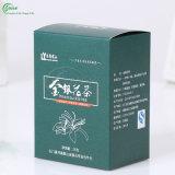 Logotipo personalizado caja de cartón de embalaje de regalo Cajas de té (KG-PX084)