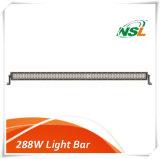 Heller Stab des LED-nicht für den Straßenverkehr fahrender heller Stab-4X4 der Auto-288W 50 des Zoll-LED