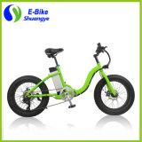 Novo projeto Bicicleta de gordura elétrica de neve de 20 polegadas