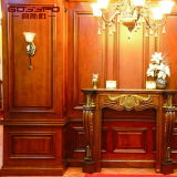 Planches et plafonds artistiques en bois de conception moderne (GSP9-076)