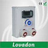 Cadre électrique imperméable à l'eau European-Style/boîtes de jonction électriques en plastique de mur