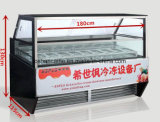 Form-Eis-Lutschbonbon-Schaukasten