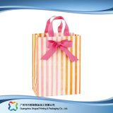 ショッピングギフトの衣服(XC-bgg-022)のための印刷されたペーパー包装の買物袋