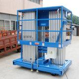 hydraulische Luftarbeit-Aluminiumplattform des Mast-12meters (GTWY12-300SA)