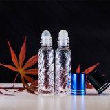 Venta al por mayor Venta caliente escarcha 10ml de aceite esencial de tubo de vacío Rollo en botellas de vidrio