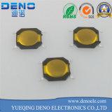 Type intrinsèque tactile lumineux commutateur de la série 6*6 DEL de lampe de commutateur de tact de lumière