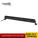 """63W de alta potencia de 23,5"""" haces diferente de la barra de luz LED"""