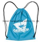 卸し売り安い昇進のギフト袋の習慣は防水吊り鎖袋のスポーツの体操袋袋旅行靴袋100%年のポリエステルナイロンドローストリングの鞍帯のバックパック袋を印刷した